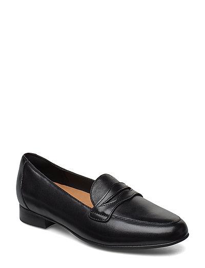 Un Blush Go Loafers Flache Schuhe Schwarz CLARKS | CLARKS SALE