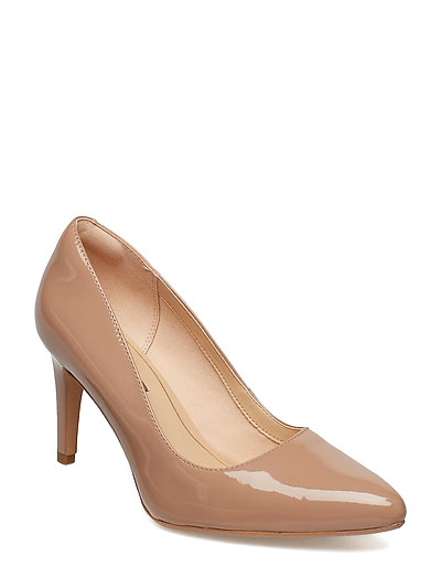 Laina Rae Shoes Heels Pumps Classic Beige CLARKS