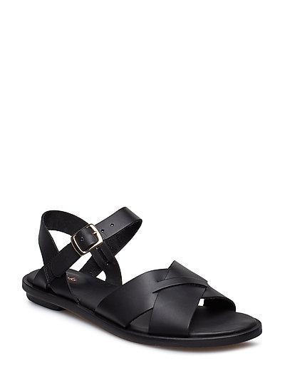 Willow Gild Shoes Summer Shoes Flat Sandals Schwarz CLARKS
