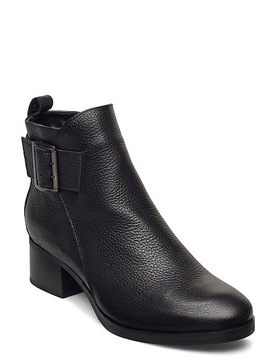 Mila Charm Shoes Boots Ankle Boots Ankle Boot - Heel Schwarz CLARKS