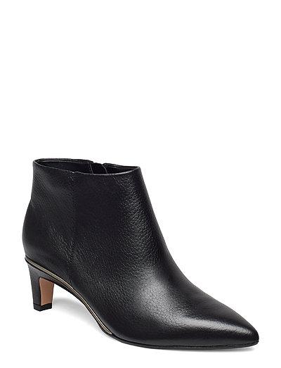 Ellis Eden Shoes Boots Ankle Boots Ankle Boot - Heel Schwarz CLARKS