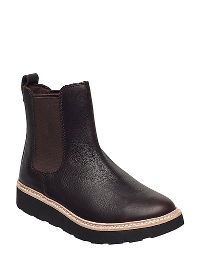 Trace Cora Shoes Chelsea Boots Braun CLARKS