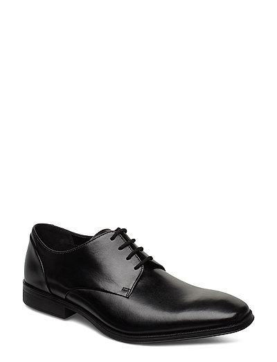 Gilman Plain Shoes Business Laced Shoes Schwarz CLARKS