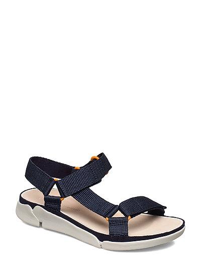 Tri Sporty Shoes Summer Shoes Flat Sandals Blau CLARKS