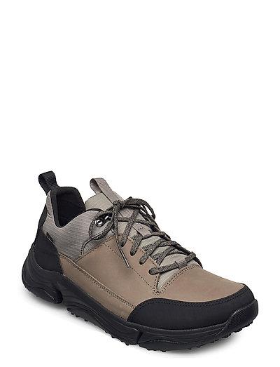 Tri Path Walk Niedrige Sneaker Grün CLARKS
