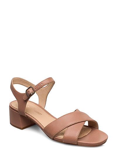 Sheer35 Strap Sandale Mit Absatz Beige CLARKS