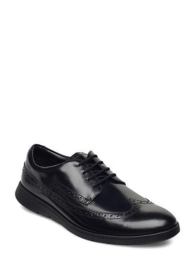Helston Limit Shoes Business Laced Shoes Schwarz CLARKS