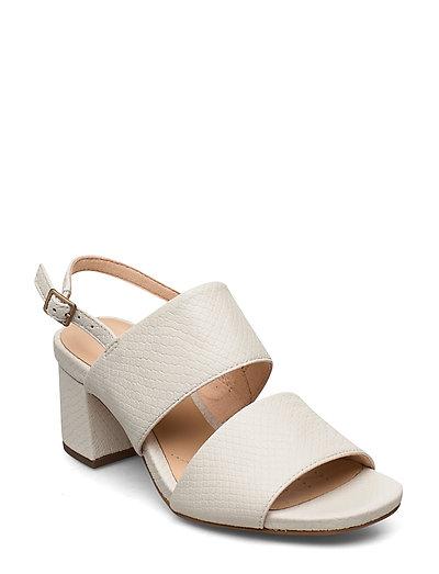 Sheer55 Sling Sandale Mit Absatz Creme CLARKS
