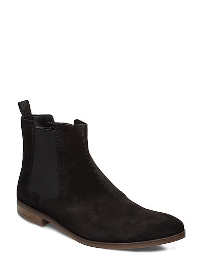 Stanford Top Shoes Chelsea Boots Schwarz CLARKS