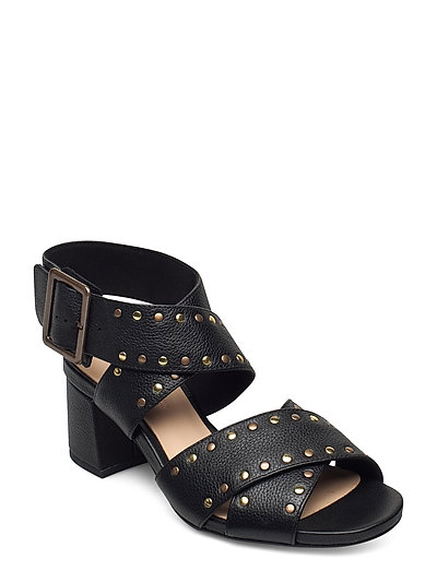 Sheer55 Buckle Sandale Mit Absatz Schwarz CLARKS