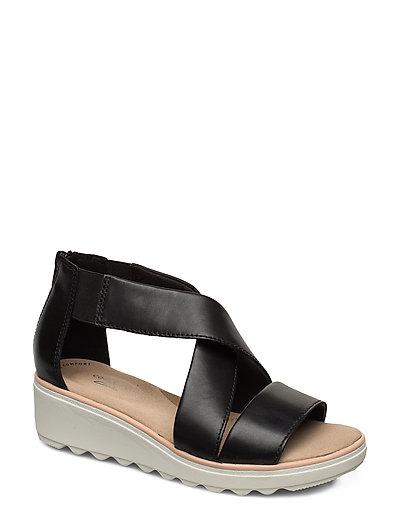 Jillian Rise Shoes Summer Shoes Flat Sandals Schwarz CLARKS