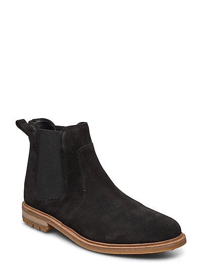 Foxwell Top Shoes Chelsea Boots Schwarz CLARKS