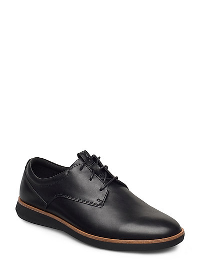 Banwell Lace Shoes Business Laced Shoes Schwarz CLARKS
