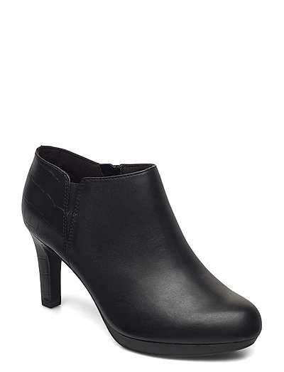 Adriel Lily Shoes Boots Ankle Boots Ankle Boot - Heel Schwarz CLARKS