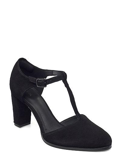 Kaylin85 Tbar2 Shoes Heels Pumps Classic Schwarz CLARKS