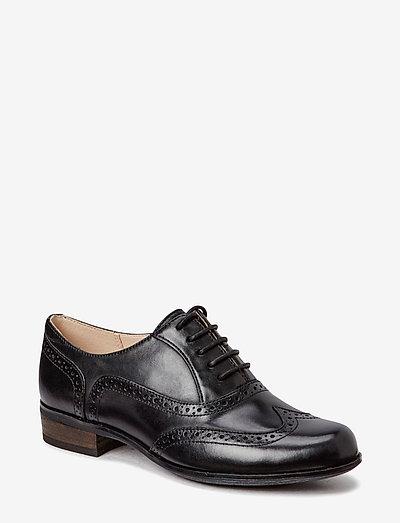 Hamble Oak - snörskor - black leather