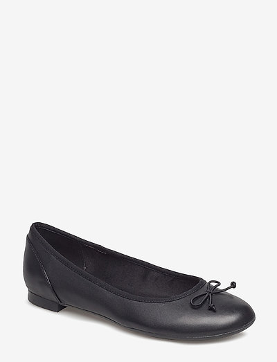 Couture Bloom - ballerinas - black leather