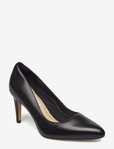 Laina Rae - klassiska pumps - black leather