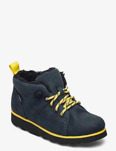 Crown Tor K - stövlar & kängor - navy leather