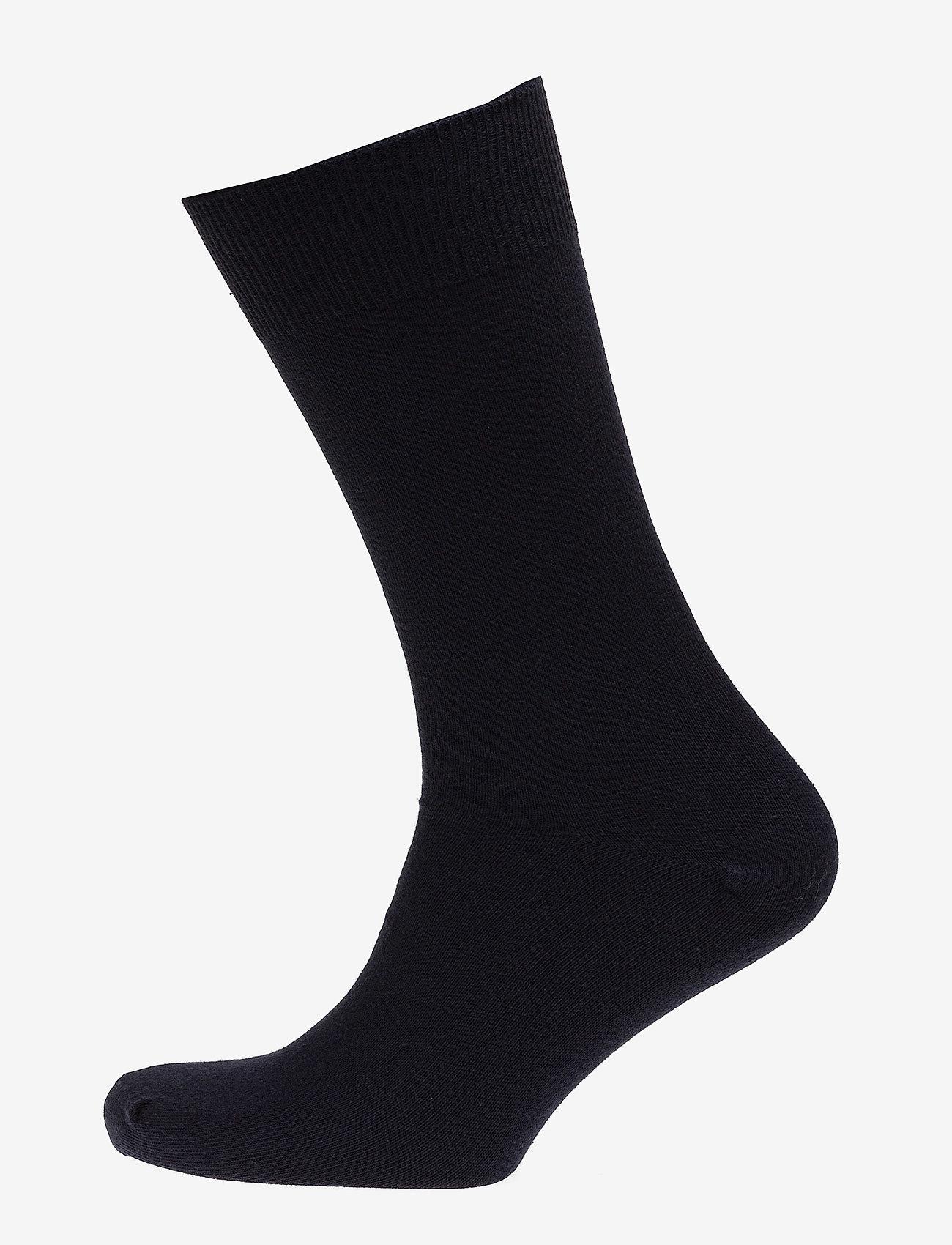 Claudio - Mens Classic Sock - vanlige sokker - navy - 0
