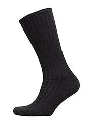 Non Elastic Wool  Claudio - BLACK MELANGE