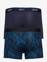 Claudio - Claudio trunk 2-pack - boxershortser - navy+aop - 1