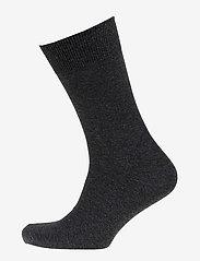Mens Classic Sock - BLACK MELANGE