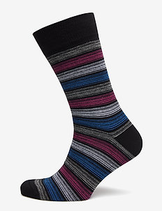 Claudio socks - FINE STRIP
