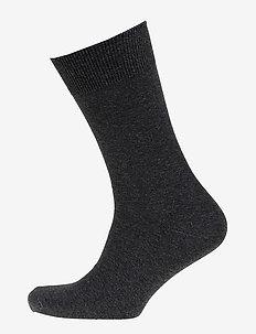 Mens Classic Sock - vanlige sokker - black melange