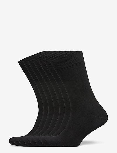 Claudio socks 7-pack - chaussettes régulières - svart