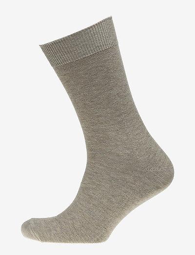 Mens Classic Sock - chaussettes régulières - stone melange