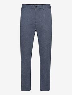 Milano Jersey Pants - INDIGO MELANGE