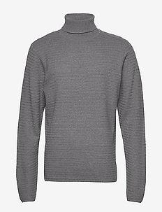 Aberdeen Roll neck - podstawowa odzież z dzianiny - light grey mel