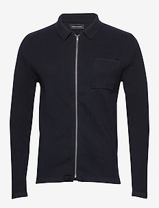 Fernando Cardigan - basic-strickmode - navy