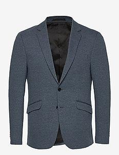 Milano Jersey Blazer - sakkos - indigo melange
