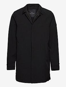 Trevor Tech Jacket - BLACK