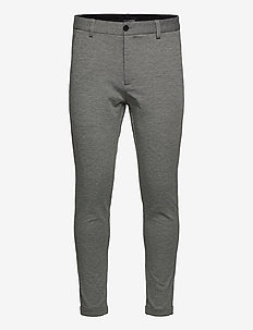 Prato Conrad Pants - formele broeken - grey mel