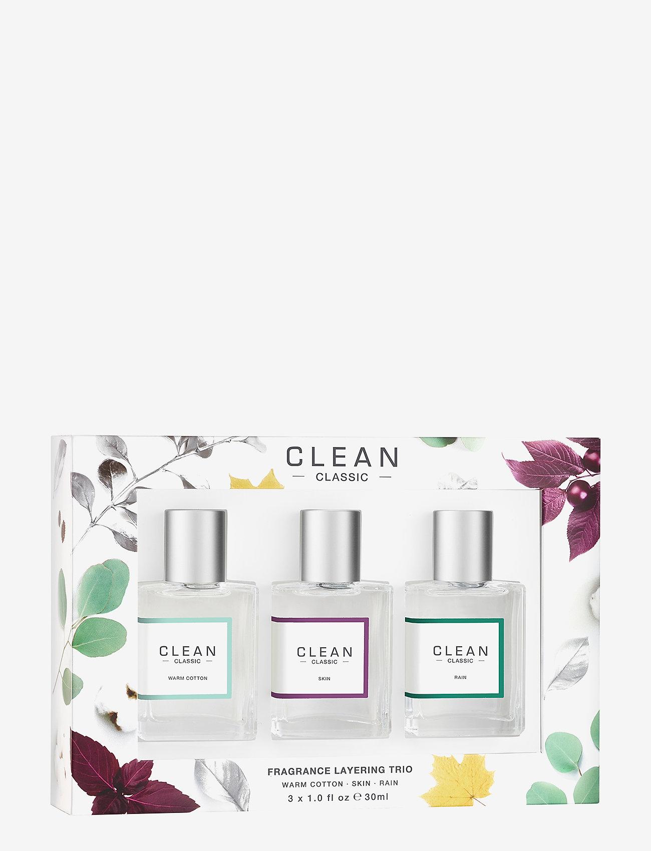 CLEAN - LAYERING TRIO SET - tuoksusetit - no colour - 0