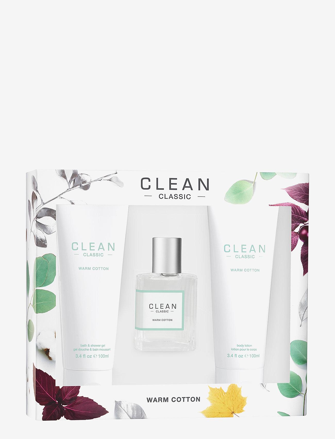 CLEAN - WARM COTTON GIFT SET - parfymset - no colour - 0
