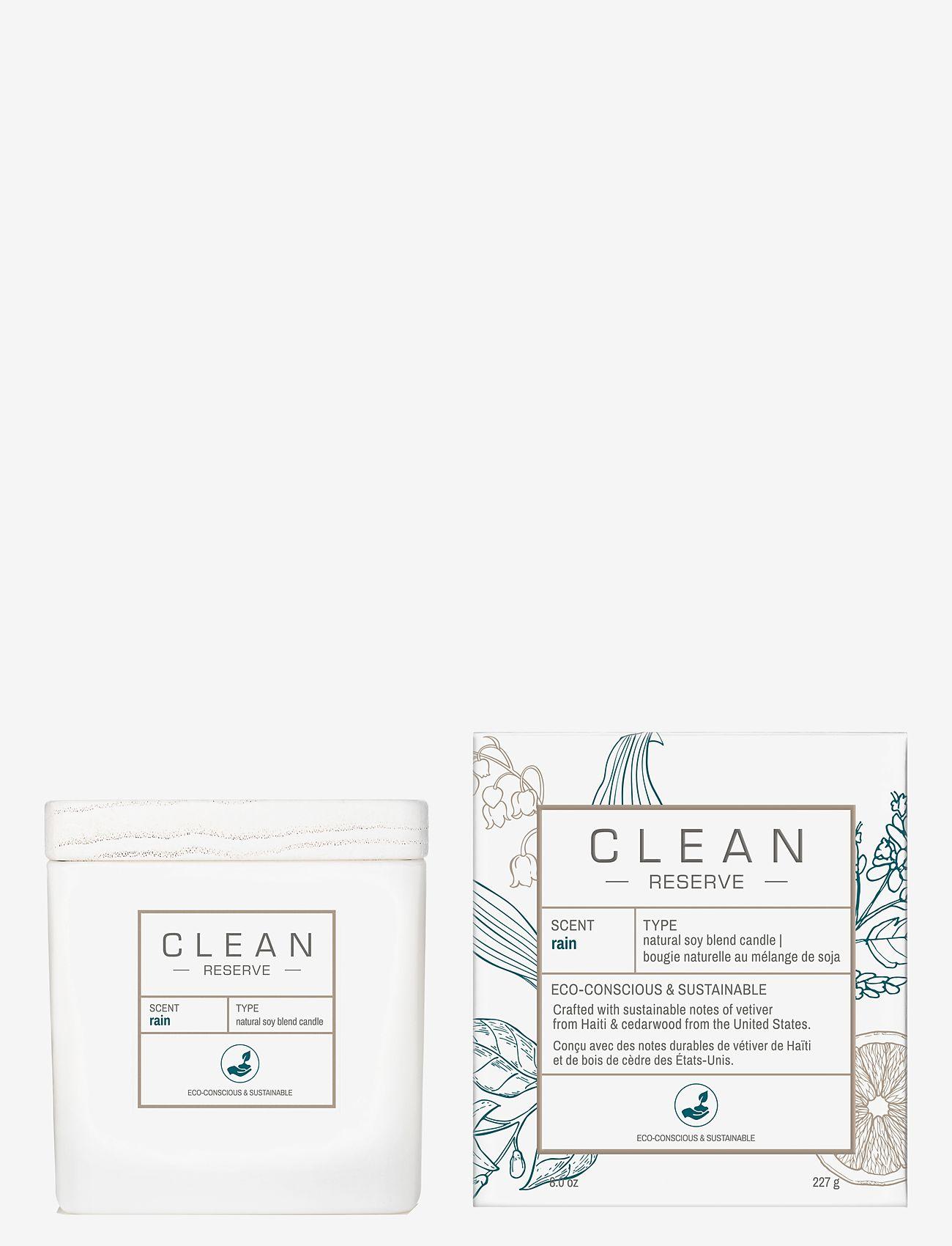 CLEAN - Rain Candle 227 g - dufte - clear - 0
