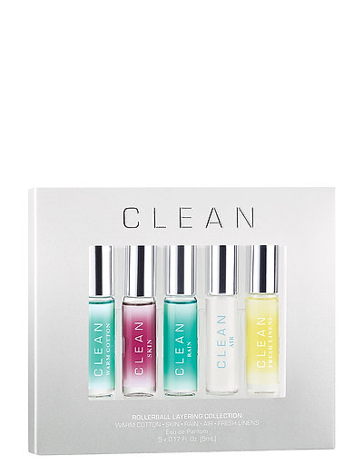 5 Piece Rollerball Collection - CLEAR