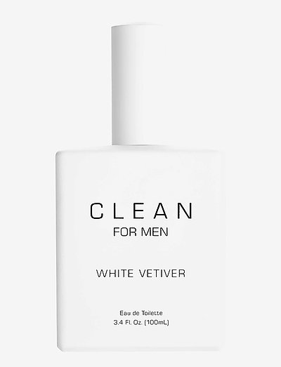 Men White Vetiver - eau de toilette - clear