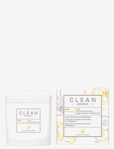 Fresh Linens Candle 227 g - dufte - clear