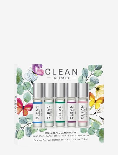 Clean Spring Set EDP 5x5 ml - eau de parfum - clear
