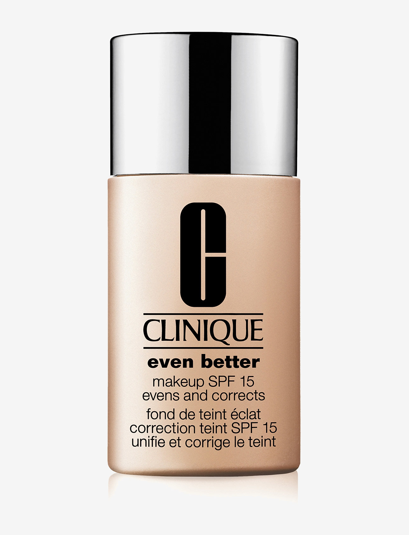 Clinique - Even Better Makeup SPF 15, Alabaster 10 CN - meikkivoide - alabaster - 0