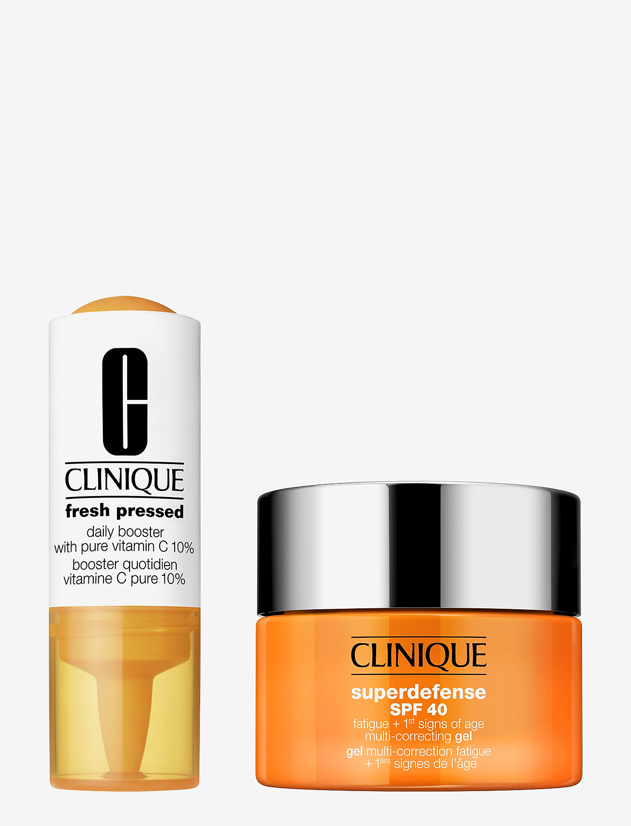 Clinique - Fresh Pressed 7-Day Recharge: Vitamin C + Superdefense Gel - ihonhoitosetit - clear - 0