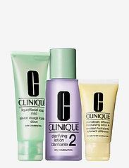 Clinique - 3-Step Skin Care Intro Set, Skin Type 2 - hudvårdsset - clear - 1