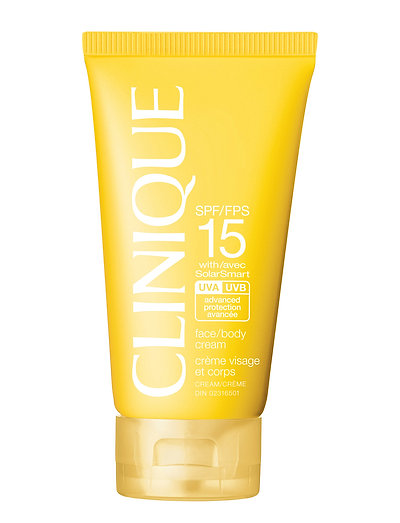SPF 15 Face/Body Cream - CLEAR