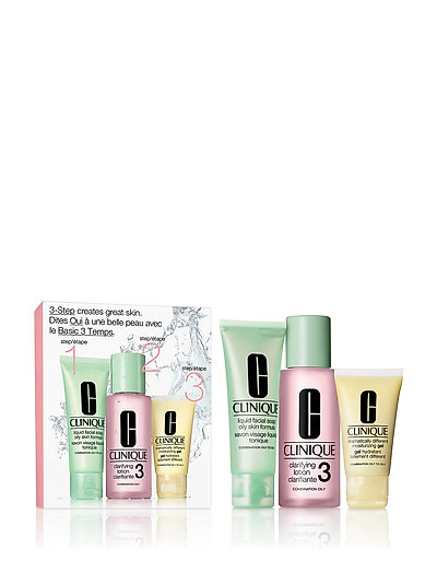 3-Step Skin Care Intro Set, Skin Type 3 - CLEAR