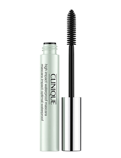 High Impact Waterproof Mascara, Black - BLACK